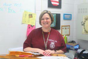Mrs. Buchanan awarded Teacher of the Year