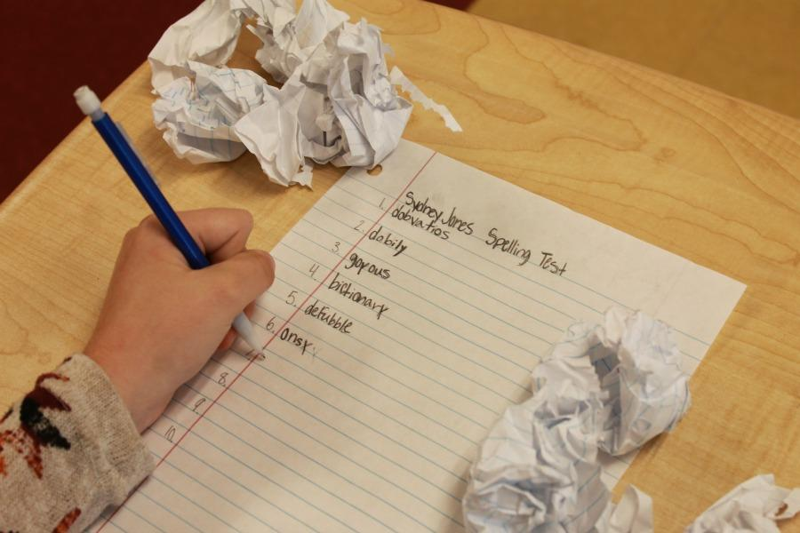 Spelling test can be a constant torcher to elementary school students with dyslexia.