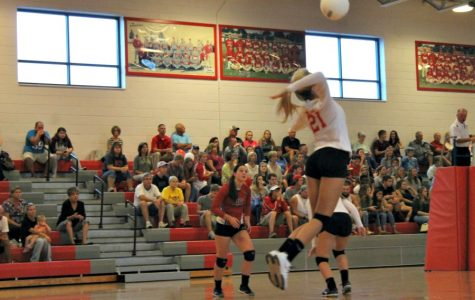 Lady Trojans defeat Wildcats in three set shutout