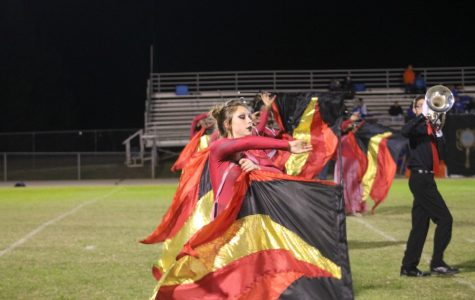 Color-guard: Twirling with talent