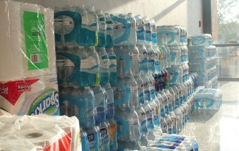 Providing much needed commodities to hurricane victims