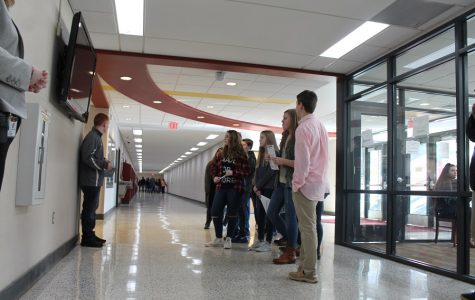 Eighth grade students become Trojans for a day