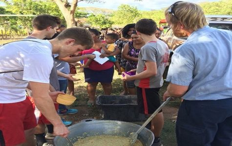 Jaydon Unger living out his faith through mission work