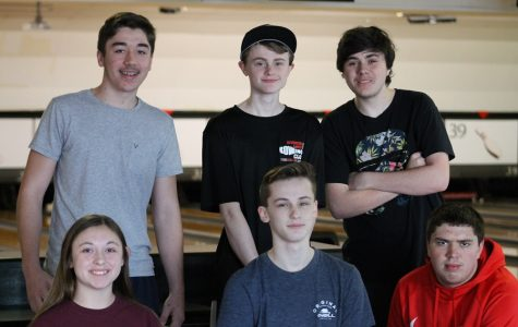 Left to right: Logan Zaher, Blake Bowen, Coby Dellis, Emma Hale, Ayrton Bowen, and Casey Toney. Not pictured is Hannah Hale.