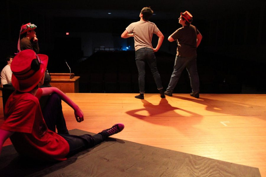 Changes in Drama III curriculum allows students to take the stage