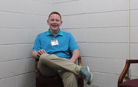 Jordan Keatts serves as the student representative for Trojans