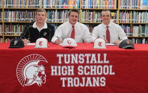 From L to R: Will Davis, Tyler Jarrett, and Jackson Clark.