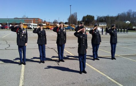 JROTC hosts drill meet