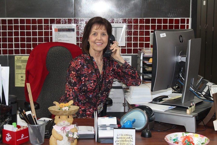Cobbs balances life as a secretary
