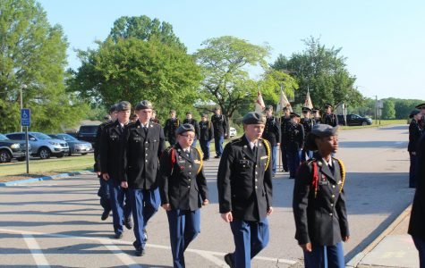 JROTC celebrates year's end with awards banquet