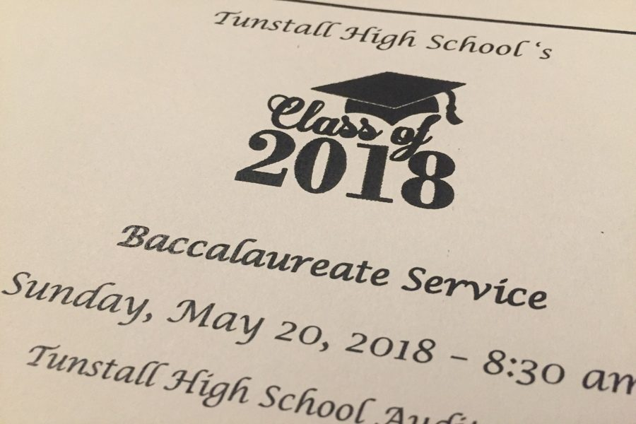 Students take part in baccalaureate service