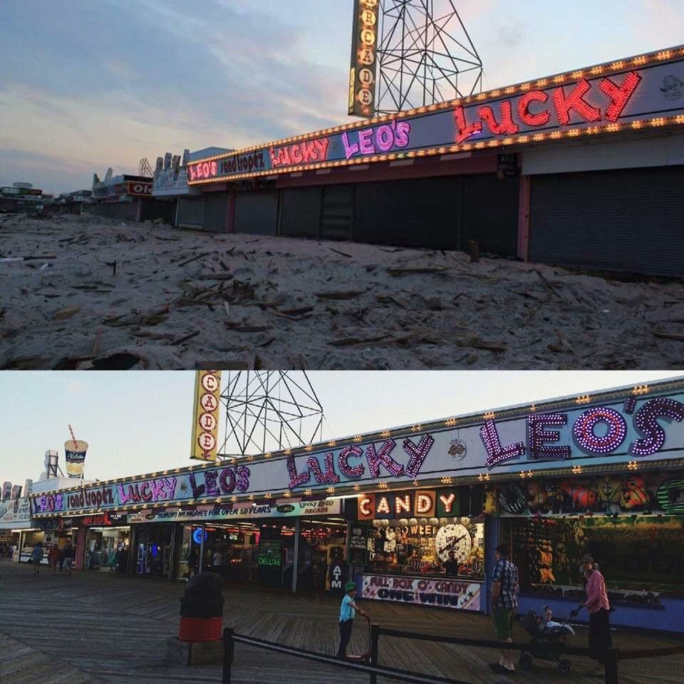 Seaside+Boardwalk+right+after+Sandy+then+4+years+later