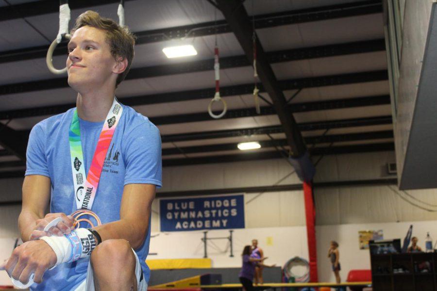 Brendan+flips+for+gymnastics