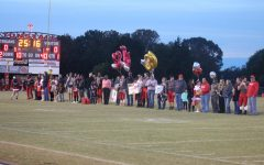 Senior night sparks mixed emotions for students
