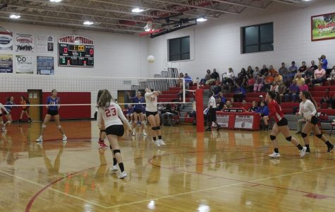 The Lady Trojans put up a fight to defeat the Bassett Bengals