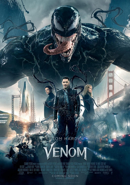 Venom's theatrical release poster Credit to Wikipedia