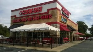 Cookout location