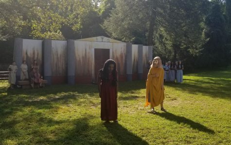 Time Traveling to 431 BCE: Greek theatre in motion
