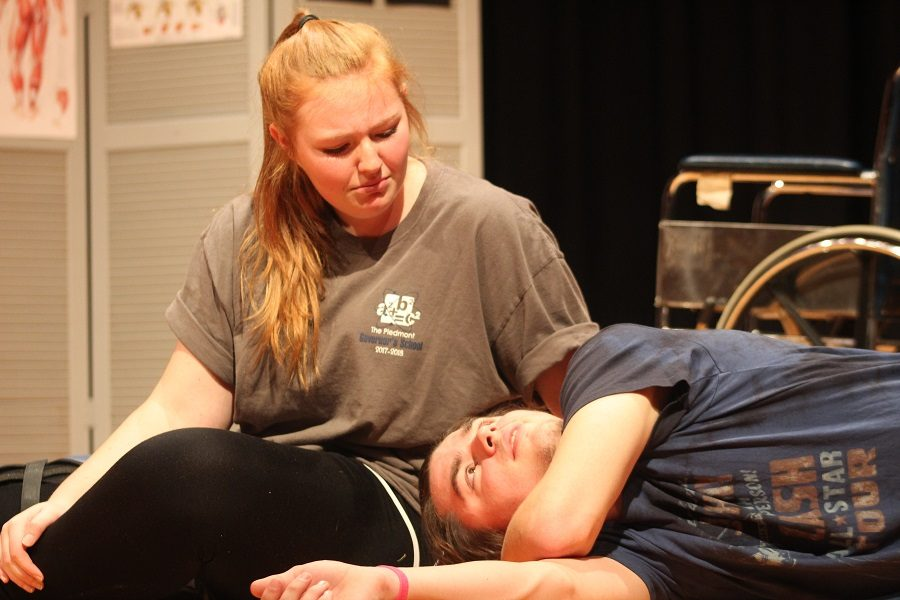 UPDATE: One act play cast wins regional competition