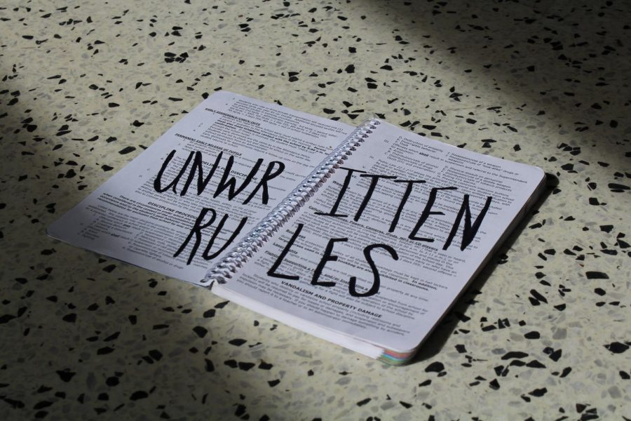 Writing the unwritten rules
