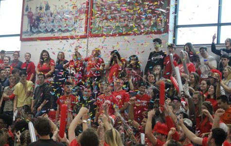 Better late than never: Trojans host long awaited pep rally