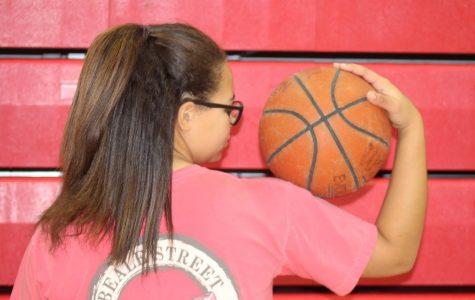 "Kayleigh ""KB"" Griffith returns for varsity basketball"