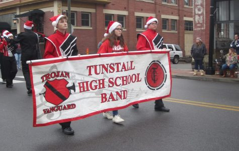 Danville parades through inclement weather