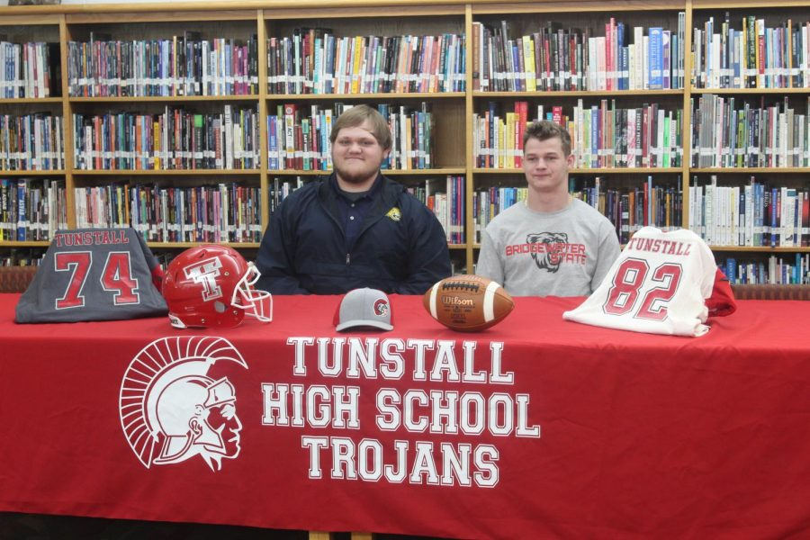 Celebrating Bray and Hardy's Trojan Football Achievements