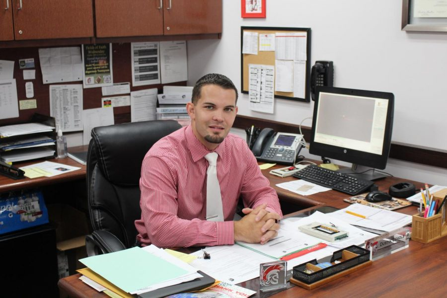 Mr.+Echols+joins+Tunstall+administration+for+his+first+full+year.+