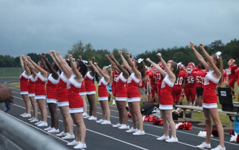 Tunstall's Cheerleaders