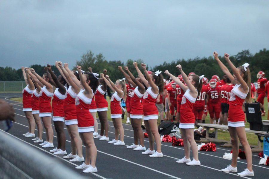 Tunstall's Cheerleaders
