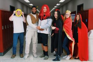 Tunstall celebrates Spirit Week-2019