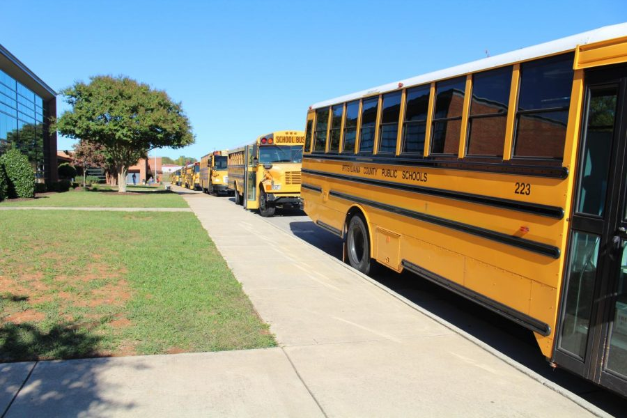 Students will return to school on Monday, October 12 using a hybrid model. Students are required to wear masks while on buses.