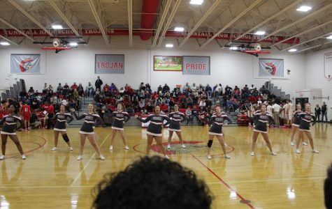 Tunstall's Varsity Basketball Cheerleaders