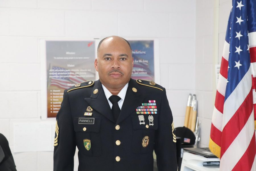 Master Sgt Pannell joins Tunstall ranks